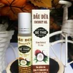 Chăm sóc toàn thân hiệu quả với dầu dừa